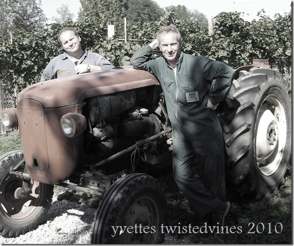 old tractor c