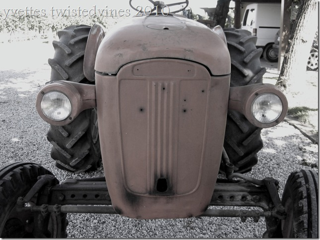 old tractor f