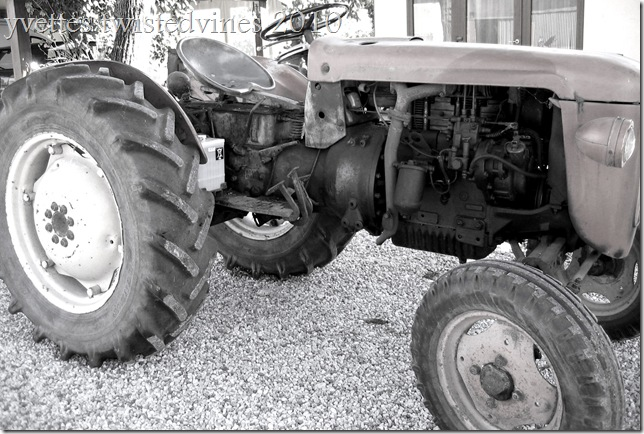 old tractor g
