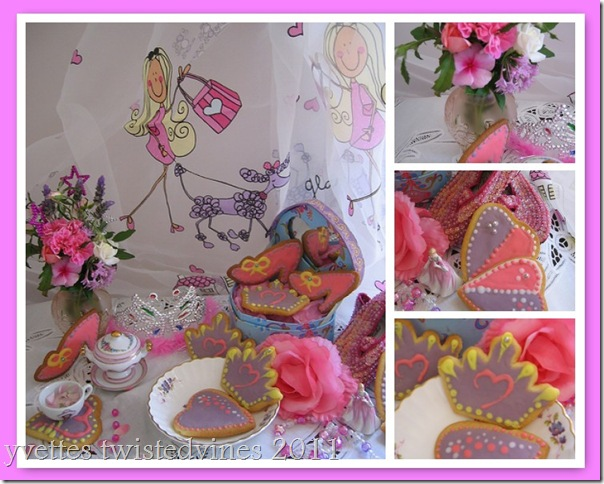 mosiac princess cookies