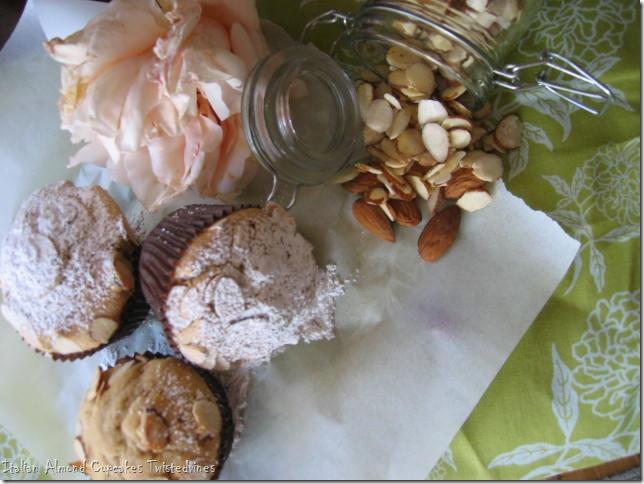 almond cupcakes 006