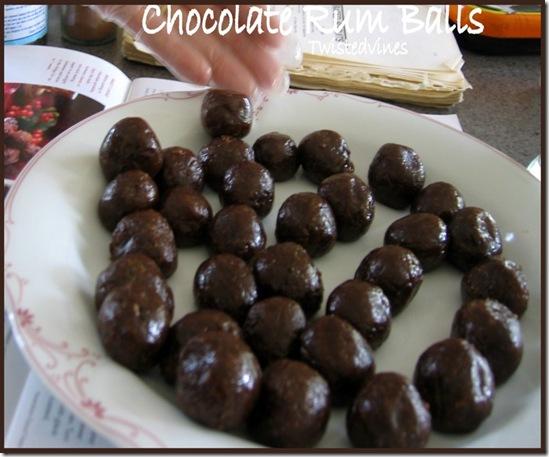Chocolate Rum Balls 1