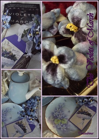 violets in march