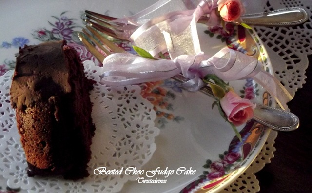 Beeted Choc Fudge Cake5