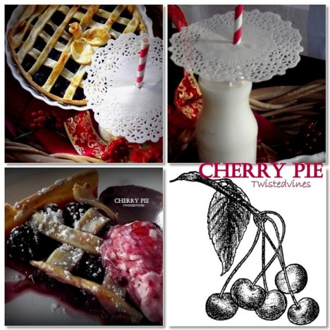 cherry pie mosaic